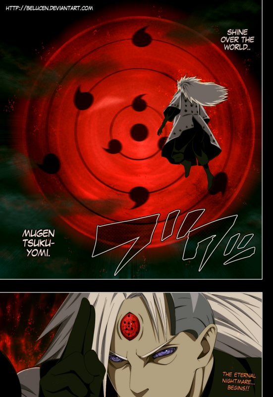 Naruto  676 - Le Genjutsu Eternel