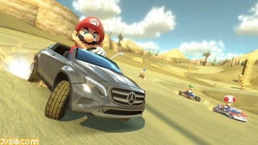Mario Kart 8 : DLC Gratuit Mercedes-Benz