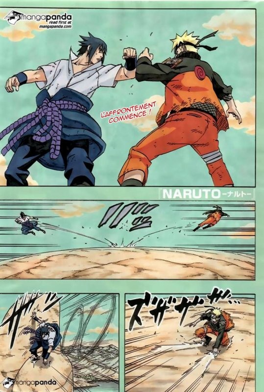 Naruto 695 - Naruto Vs Sasuke (2) + Scan - The Last