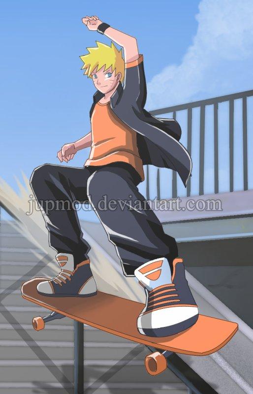 Fanarts #43 - Skateur, Bikeuse et Assassin