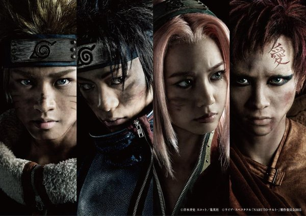 Naruto la comédie musicale : Visuels et teaser