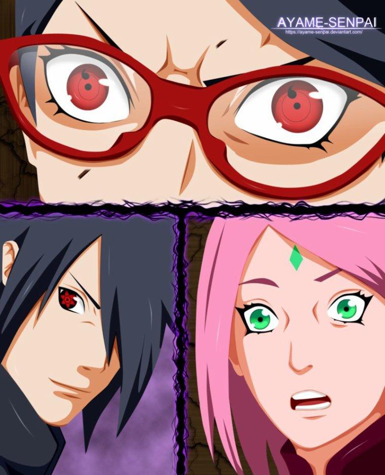 Naruto Gaiden : Chapitre 10 - Le changement dans ces yeux - FIN