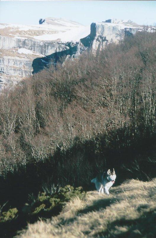 Traversée du Vercors du 5 au 10 avril 2015: Corrençon/Col de Rousset par le Col de Carri