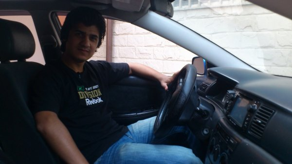 My new car..