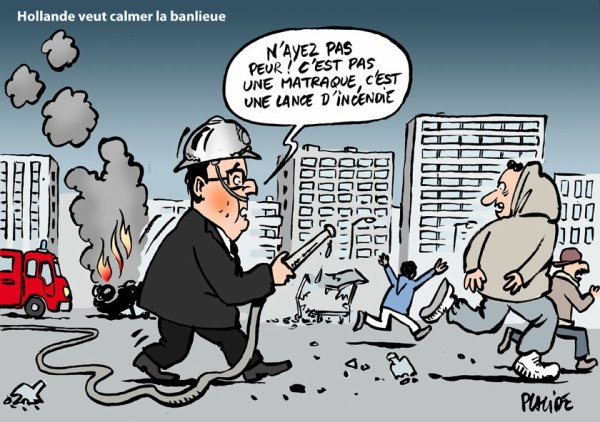 le calme en banlieue version Hollande
