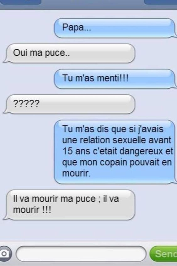 SMS parents terribles