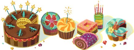 Google Celebrate My Birthday ;) what' a Gift ;)