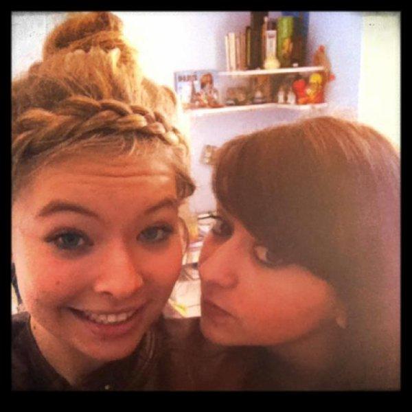 ma meilleure amie et moi :)
