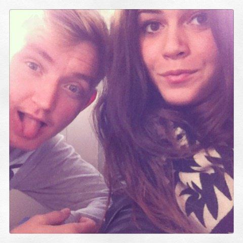 Avec Mathilde ;)