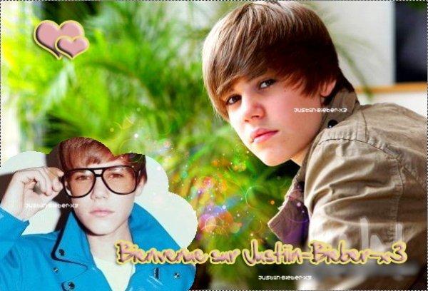 Bienvenue sur Justiin--Bieber-x3