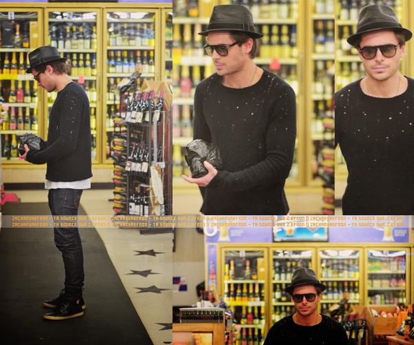 11.02.12 || Zac accompgné de LL Cool J était à la Pre-Grammy Party du Hennessy VS 10.02.12 || Zachary a été aperçu dans un magasin de liqueurs dans West Hollywood