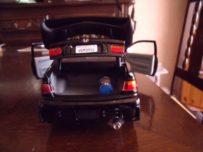 honda civic the fast and the furious 1995 collection voitures 1 18 diorama garage. Black Bedroom Furniture Sets. Home Design Ideas