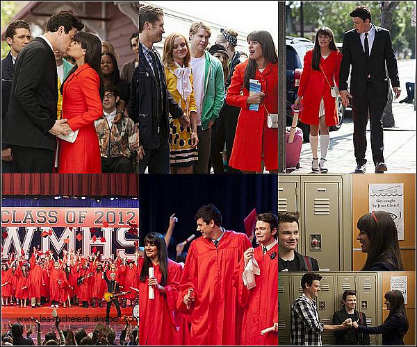 - Découvrez les tous derniers stills du dernier épisode de la saison trois de Glee.-