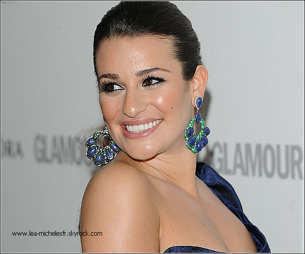 - 29/05/2012. Miss Michele, radieuse comme jamais, était présente aux Glamour Women of the Year Award à Londres où elle a remporté un prix. TOP-
