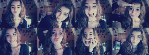 - Le visage de la webmiss de Lea-MichelesFR pour vous. :)-