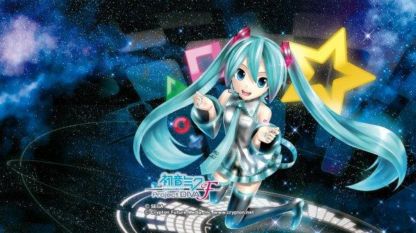 Fonds d'écrans - Filles et garçons mangas (Vocaloid)