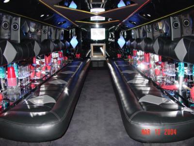 interieur hummer limousine