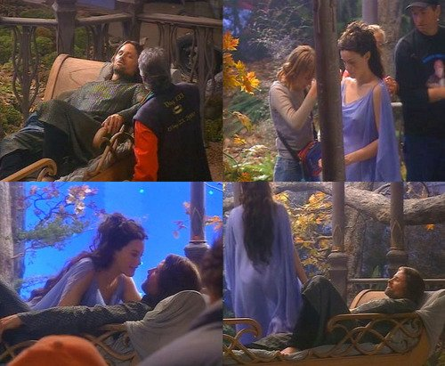 Aragorn and Arwen * Anecdotes *