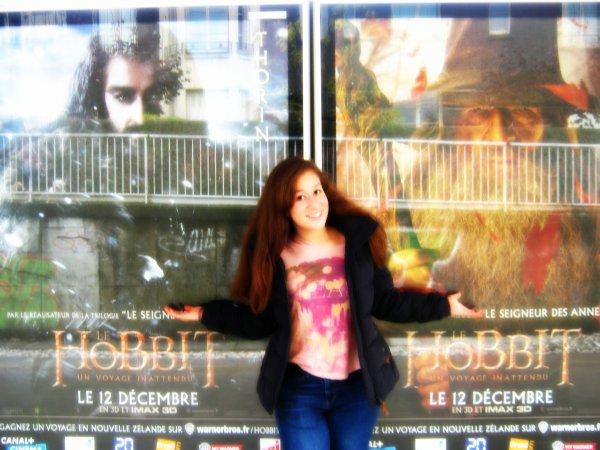 """--Plus qu'un mois <3 !!! Pour """"Bilbo le Hobbit !!!!! """"--"""