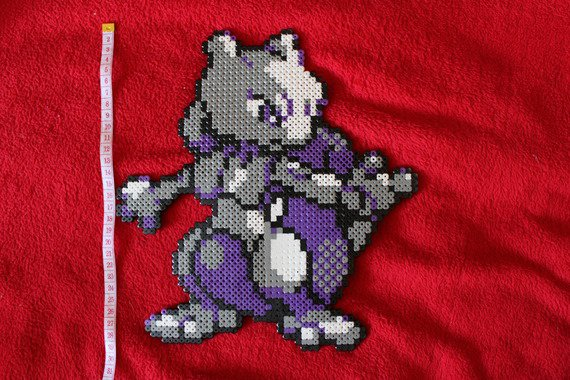 Pixel Art (mini ) Mewtwo 20 ¤