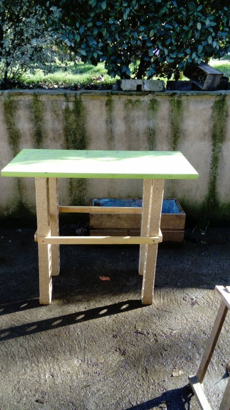 besoin d'une table