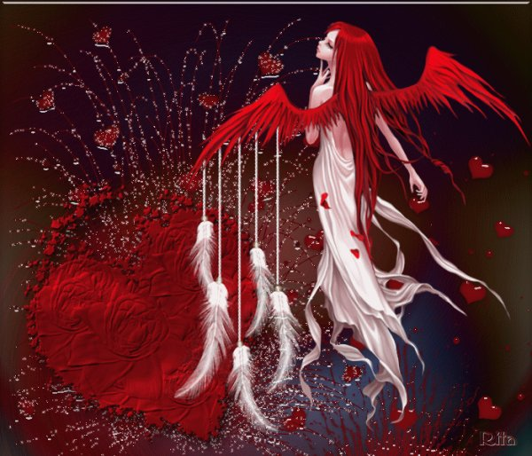 sublime  ange   rouge