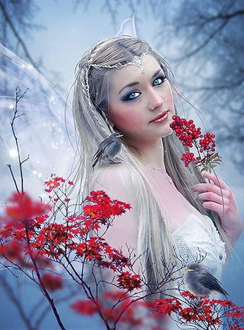 sublime  femme  gothique
