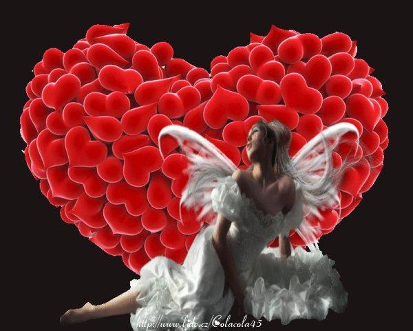 magnifique   femme ange