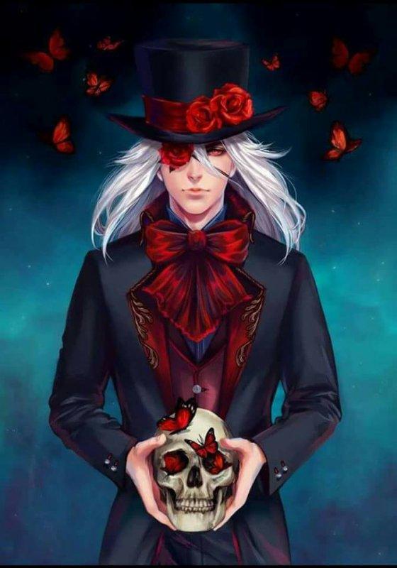magnifique   homme   gothique