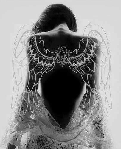 magnifique  ange  femme
