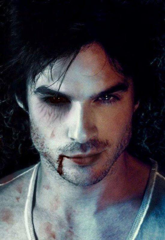 damon   le  vampire    très  belle  photo