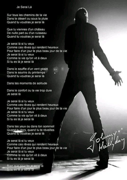 Johnny  mon idole