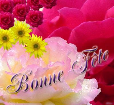 Bonne fete ma cherie mes amours - Bonne fete cheri ...