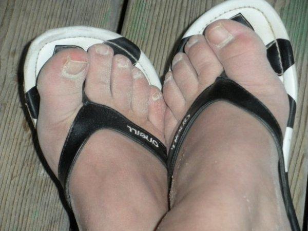 """Merci à Angie !! et ses pieds """"sablés"""""""