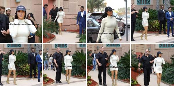 Kim s'est rendu à Dubai depuis le 12 janvier 2017. Quelques photos lors de ses sorties sont disponibles !