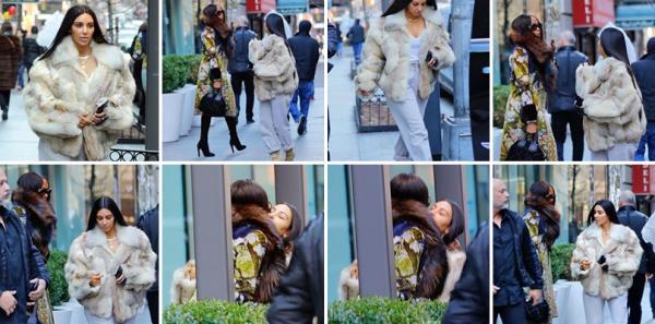 16.01.17 : Kim etait à NYC pour un tournage de film... Plus d'infos à venir!