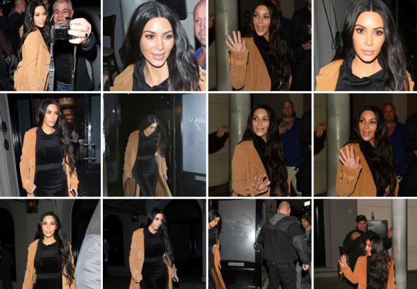Le 6 fevrier. Kim s'est rendu au restaurant Graig's à Los Angeles. Je la trouve encore plus belle avec les cheveux bouclés comme avant, et son look est parfait !