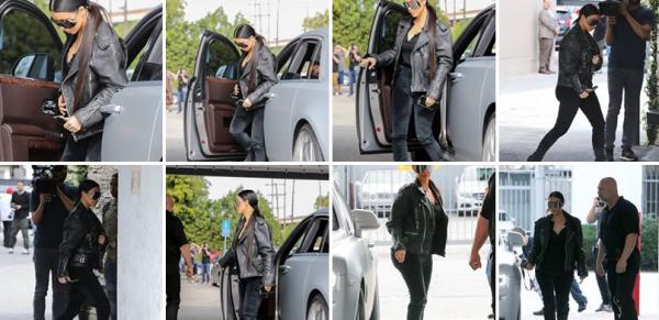 Le 8 fevrier 2017. Kim toujours à Los Angeles. Ca ne peut pas plaire à tout le monde, mais j'adore ses lunettes. Et je trouve qu'elle est super bien habillée.