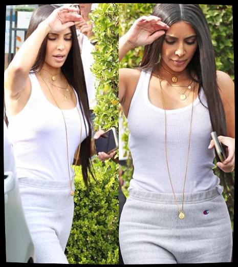 10.03.17 | Kim a été apperçue avec North à Los Angeles.