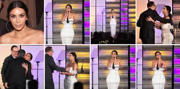 11-03-17 | Kim lors de la remise d'Awards aux Equality Impact Awards à Los Angeles. Juste sublime comme d'habitude !