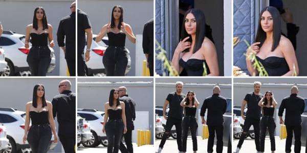 30.03.17 |  Kim  a été apperçue à Los Angeles avec une nouvelle coupe de cheveux qui lui va tout aussi bien que l'ancienne. J'aime beaucoup sa tenue, simple et efficace. Elle est superbe !