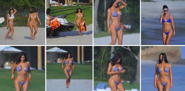 Quelques photos de la magnifique Kimberly lors de son voyage au Mexique !