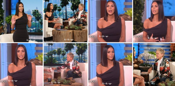 27.04.17 | The Ellen Show. Kim a fait une apparition au celebre Show d'Ellen Degeneres, elle y a livré quelques confidence notamment sur son agression à Paris il y 7 mois déjà.