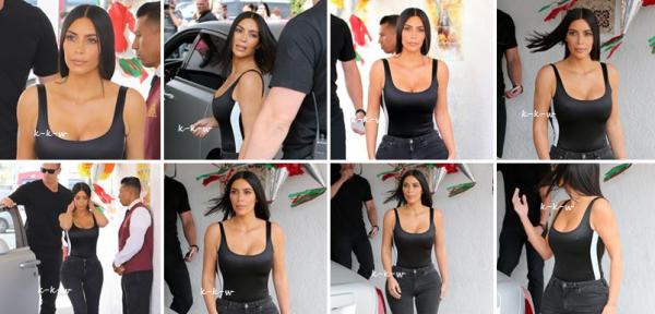 05.05.17 | Kim etait de sortie à Los Angeles à Casa Vega, sa tenue etait simple, mais lui allait à ravir, j'adore tout simplement. Elle est sublime encore une fois comme d'habitude.