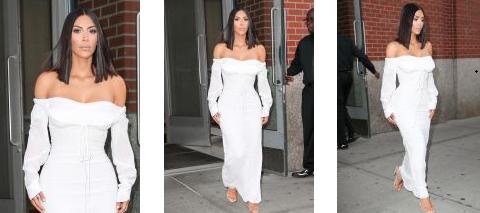 Quelques photos lors des sorties de Kim début mai !