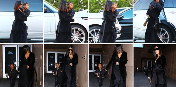 06.05.17 | Kim etait de sortie à LA, accompagnée de sa fille, North !