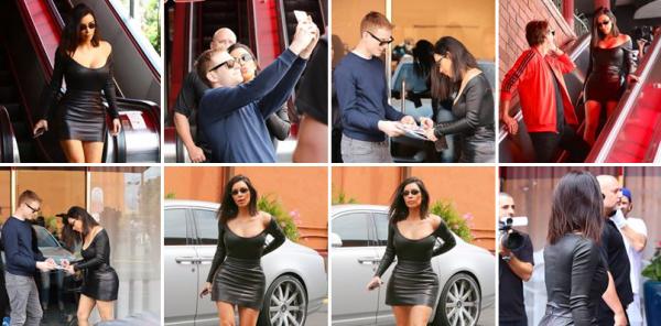 08.05.17 | Kim a été apperçue au restaurant Chin Chin Studio City, dans une tenue super sexy. Je la trouve sublime !