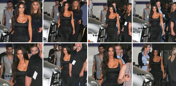 21.05.17 | Kim a été vue après l'enregistrement de WWH Live à Los Angeles, elle a changé de coiffure, et a opté pour des cheveux ondulés... je trouve que ça lui va mieux que les cheveux lisses !