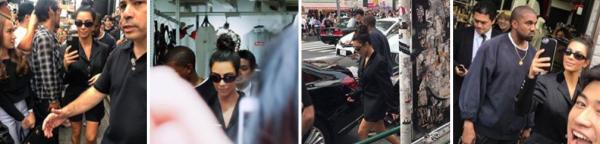 Kim et Kanye se sont rendues à Tokyo dernièrement, voici les photos !