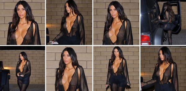 19.07.17 | Kim a été vu se rendant à un diner en amoureux avec Kanye (qu'on ne peut voir sur les images malgré tout). Kim est encore une fois trés sexy.